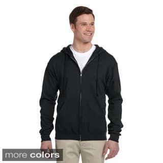 Men's 50/50 NuBlend Fleece Full-zip Hoodie https://ak1.ostkcdn.com/images/products/9216018/P16385623.jpg?impolicy=medium