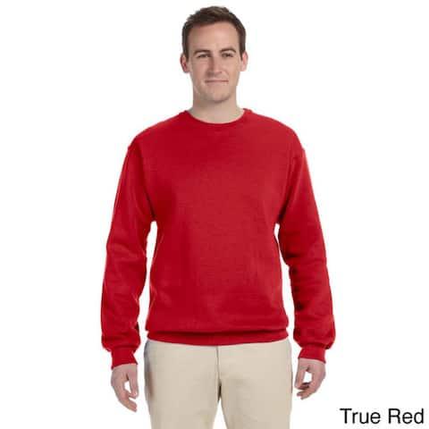 Fruit of the Loom Men's Supercotton 70/30 Fleece Crew Sweatshirt