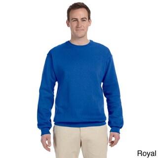 Fruit of the Loom Men's Supercotton 70/30 Fleece Crew Sweatshirt (More options available)