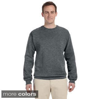 Fruit of the Loom Men's Supercotton 70/30 Fleece Crew Sweatshirt|https://ak1.ostkcdn.com/images/products/9216020/P16385622.jpg?impolicy=medium