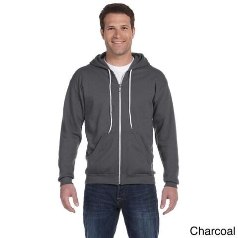 Anvil Men's Ringspun Full-zip Hooded Sweatshirt
