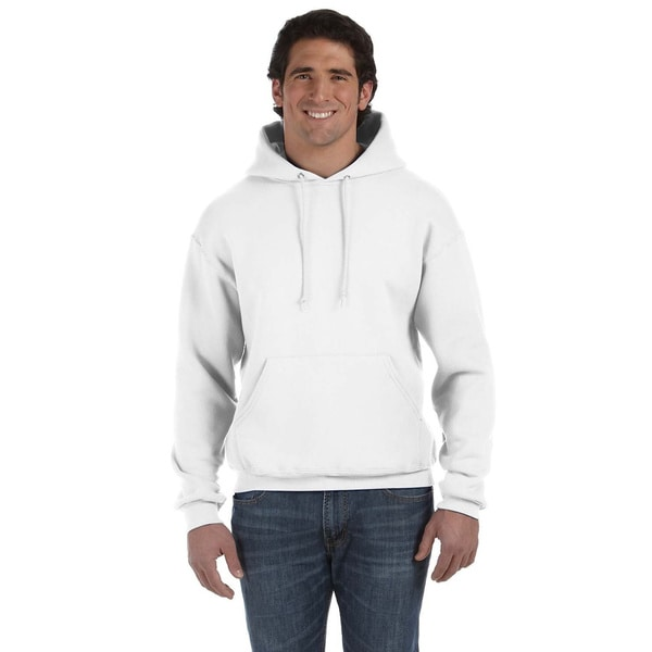 1447a0bc40 Shop Fruit of the Loom Men s Supercotton 70 30 Pullover Hoodie ...