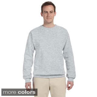 Men's 50/50 NuBlend Fleece Crew Sweatshirt|https://ak1.ostkcdn.com/images/products/9216252/P16385633.jpg?impolicy=medium