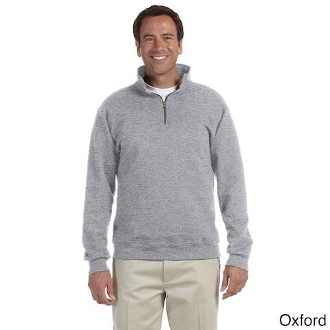 Men's 50/50 Super Sweats NuBlend Fleece Quarter-zip Pullover