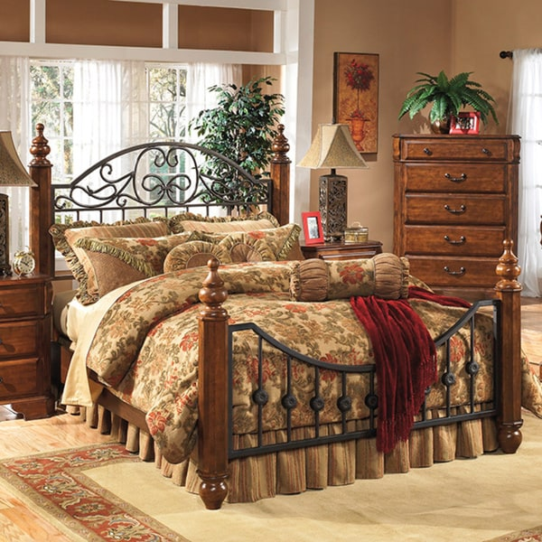 Shop Signature Design By Ashley Wyatt Bed Free Shipping