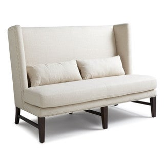 Sunpan '5West' Malibu Linen Fabric Upholstered Loveseat