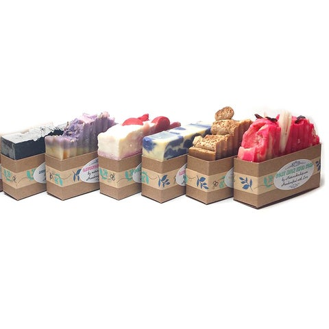 Handmade Nature Skin Shop Natural Full-sze Soap Bar Bundle (Set of 6) (United States)
