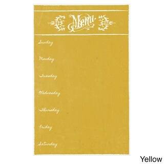 Dry Erase Meal Planner/ Menu Magnet (3 options available)