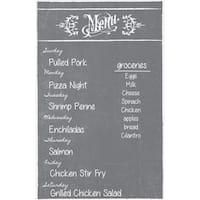 Dry Erase Meal Planner/ Menu Magnet