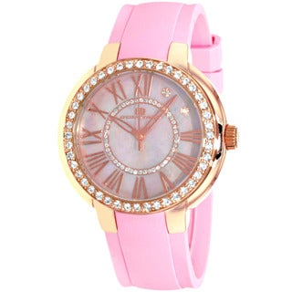 Oceanaut Women's Pink/ Goldtone Allure Watch
