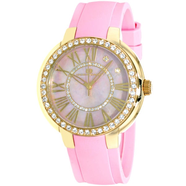Oceanaut Women's Pink/ Goldtone Allure Watch