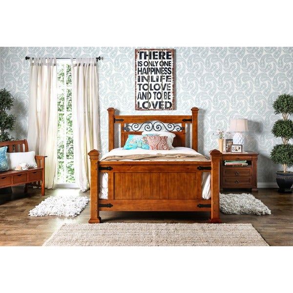 Furniture Of America Country Style Poster Bed Free Shipping Today