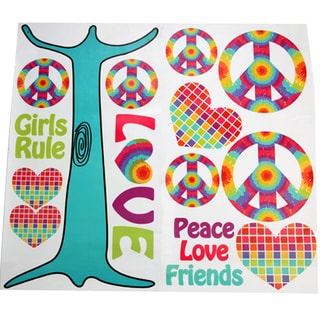 Terrific Tie Dye Wall Decals
