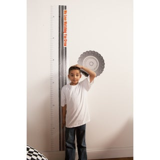 Teyo's Tires Growth Chart Wall Decal