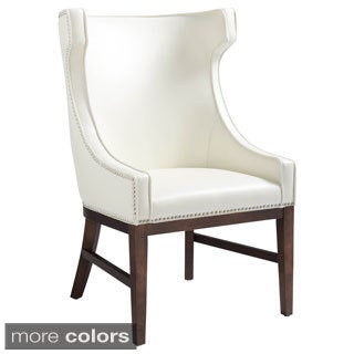 Sunpan '5West' Kashmir Leather High Back Chair
