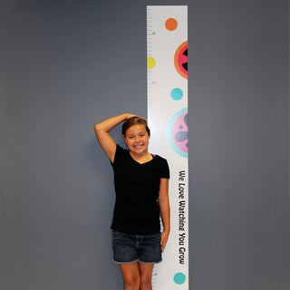 Magical Michayla Growth Chart Wall Decal