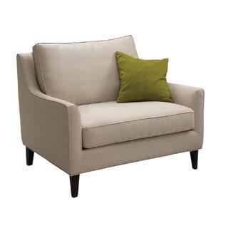 Sunpan '5West' Hanover Beige Linen Armchair