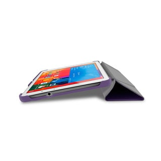 rooCASE Slim Shell Origami Folio Case with Auto Sleep / Wake for Samsung Galaxy Tab Pro 8.4 SM-T320