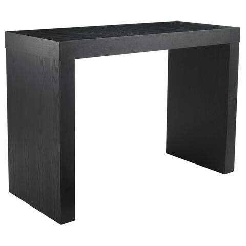 'Ikon' Faro High Gloss C-shape Bar Height Table