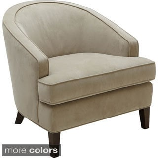 Sunpan '5West' Coleman Barrel Back Fabric Chair