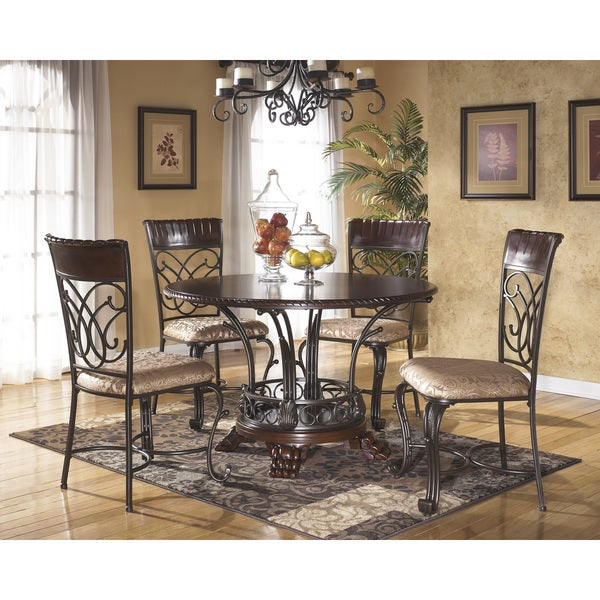 Signature Designs By Ashley Alyssa Round Dining Room Table Free - Ashley dining room sets