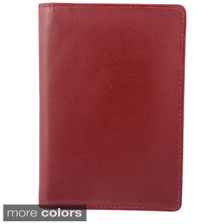 Bugatti Identity Block Tanned Leather Passport Holder