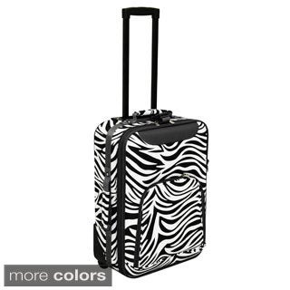 World Traveler Lightweight 20-inch Zebra Carry-on Upright