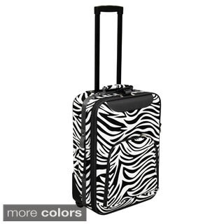 World Traveler Lightweight 20-inch Zebra Carry-on Upright (4 options available)
