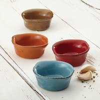 Rachael Ray Cucina Stoneware 4-piece Assorted Dipping Cup Set