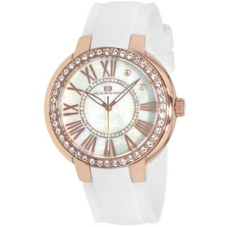 Oceanaut Women's Allure White/ Rosetone Watch