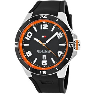 Tommy Hilfiger Men's 1790861 Blake Silicone Sport Watch