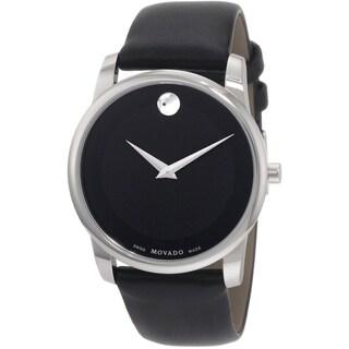 Movado Men's 0606502 Black Museum Watch