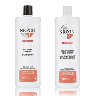 Nioxin System 4 Cleanser and Therapy Conditioner 33.8-ounce Set
