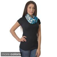 LA 77 Tie-dye Leopard Print Scarf