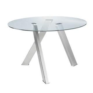 Sunpan 'Ikon' Manhattan Round Dining Table