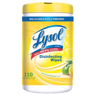 Lysol 110-count 4-in-1 Disinfecting Wipes (Pack of 6)