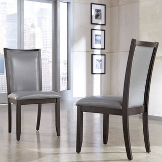 Signature Designs by Ashley 'Trishelle' Grey Dining Upholstered Side Chair (Set of 2)