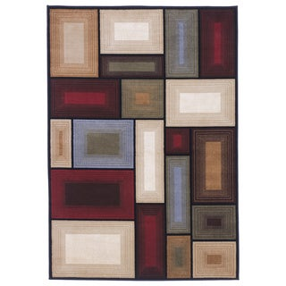 Signature Designs by Ashley Prism Multicolored Geometric Rug (5' x 7')