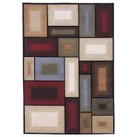 Signature Designs by Ashley Prism Multicolored Geometric Rug - 5' x 7'