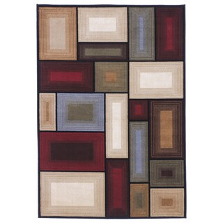 Signature Designs by Ashley Prism Multicolored Geometric Rug (5' x 7') - 5' x 7'