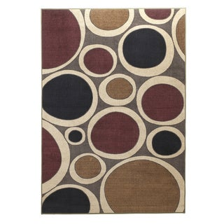 Signature Designs by Ashley Popstar Plum Abstract Area Rug
