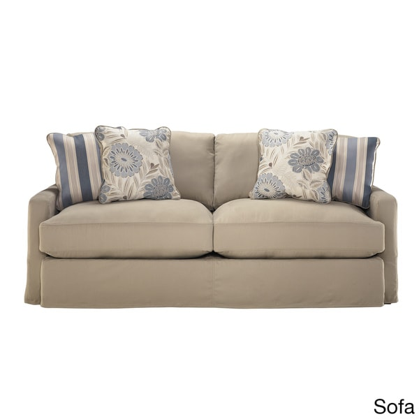 Signature Designs By Ashley Addison Khaki Sofa