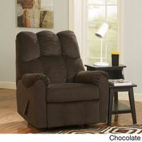 Signature Design by Ashley Raulo Fabric-upholstered Rocker Recliner