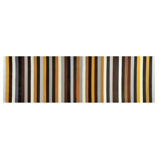 Sunpan 'Ikon' 'Earthy Stripes' Canvas Art