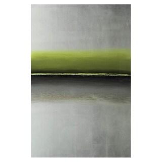 Sunpan 'Ikon' 'Silver Storm' Canvas Art