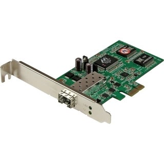 StarTech.com PCI Express Gigabit Ethernet Fiber Network Card w/ Open