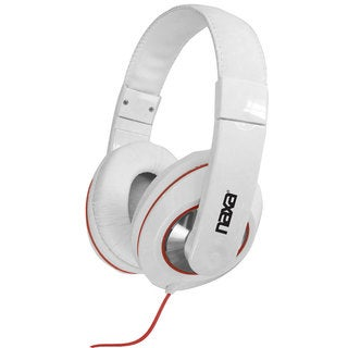 Naxa NE-929 Over-the-Ear White Headphones