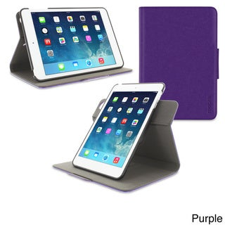 roocase 360 Dual View Detachable Rotating Stand Case Smart Cover for Apple iPad Mini 3/2/1