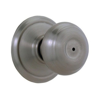 Schlage Georgian Antique Pewter Bed and Bath Doorknob