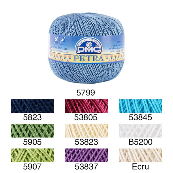 Shop Petra Crochet Cotton Thread Size 5 Free Shipping On Orders